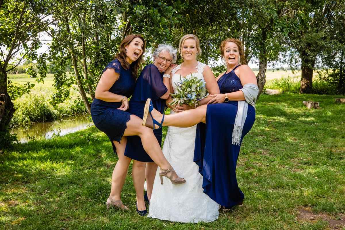 groepsfotos bruidspaar