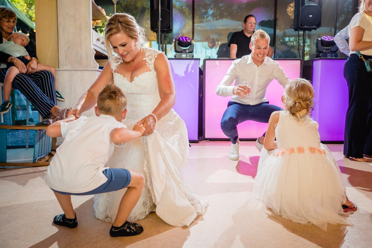 trouwfeest met kinderen