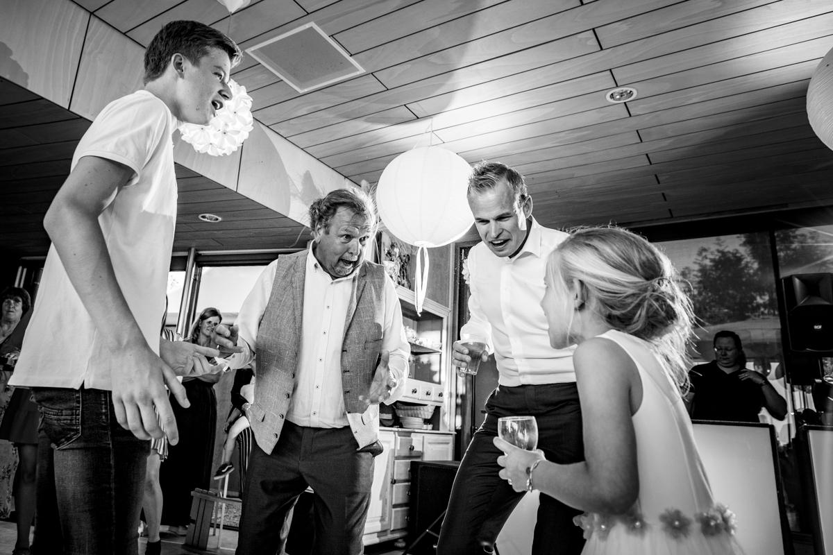 trouwfeest bruiloft