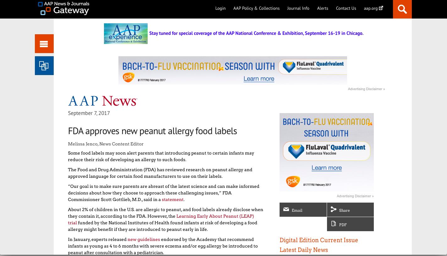 AAP NEWS & JOURNAL
