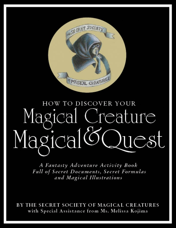 Cover of the Secret Society of Magical Creatures' How to Book.
