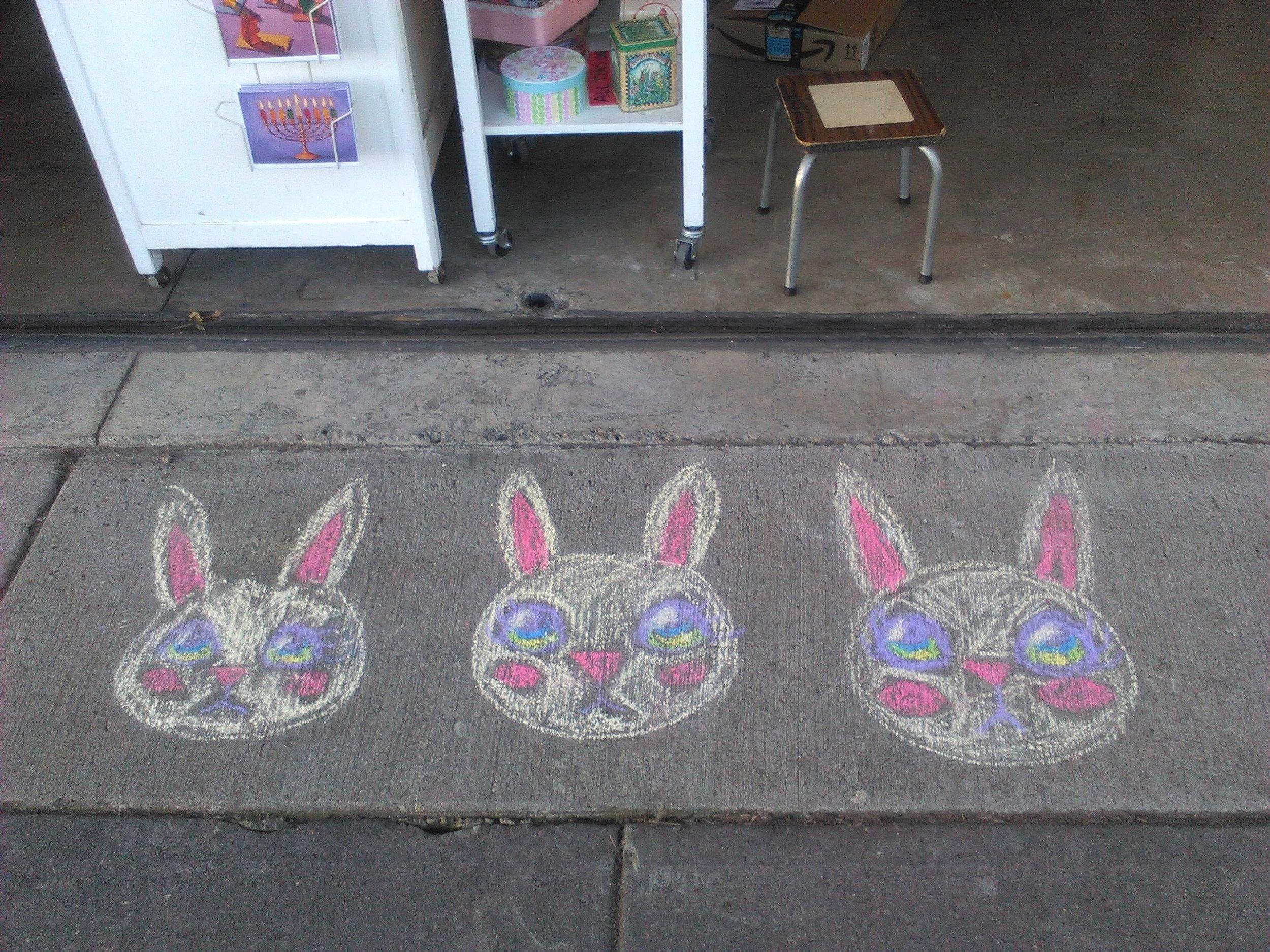 Sidewalk Bunnies at Candy Babel.jpg