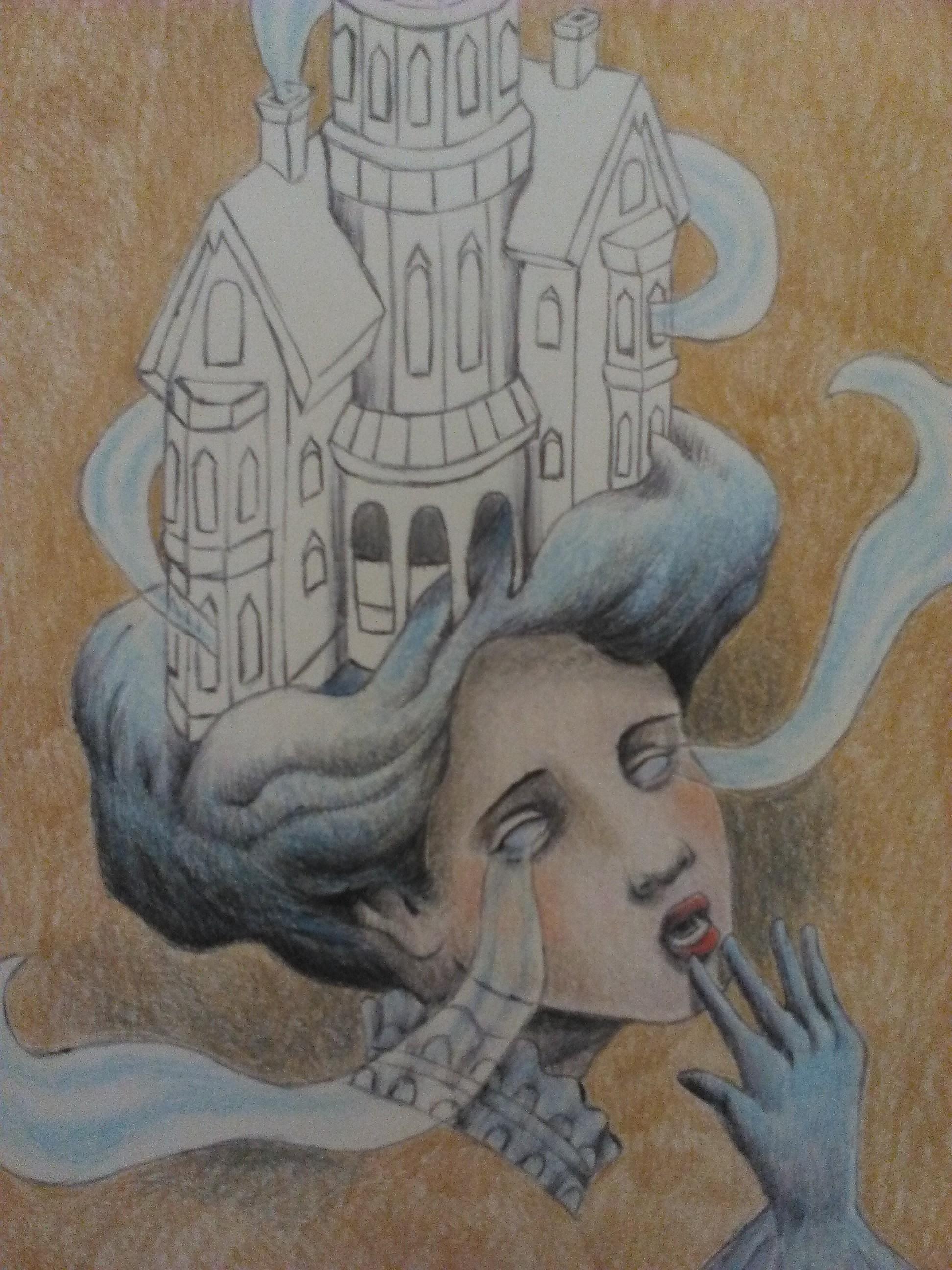 Haunted House Lady Drawing WIP 3.jpg