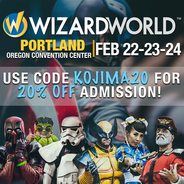 Wizard World Discount 2019 KOJIMA20.png
