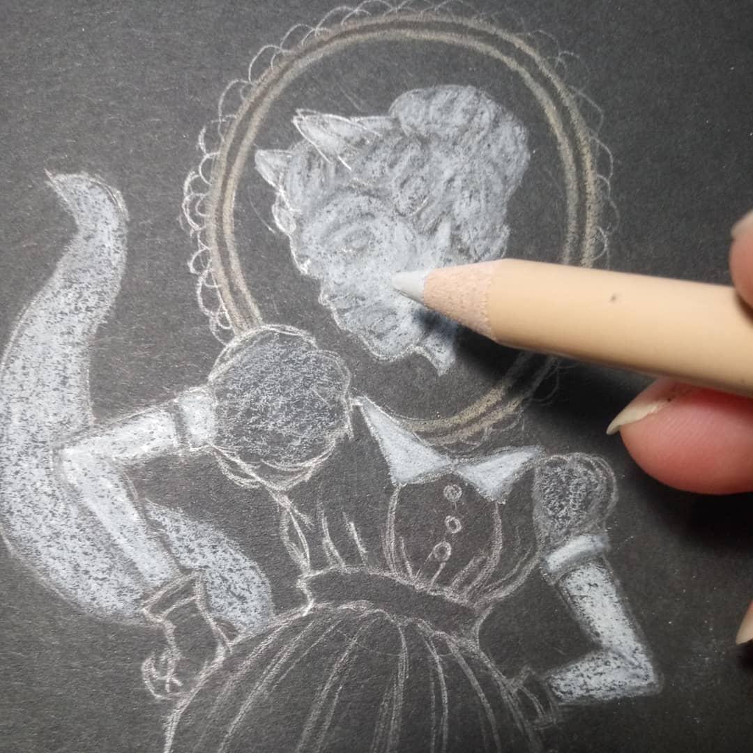 3-WIP-Ghost Fox Brooch Drawing.jpg