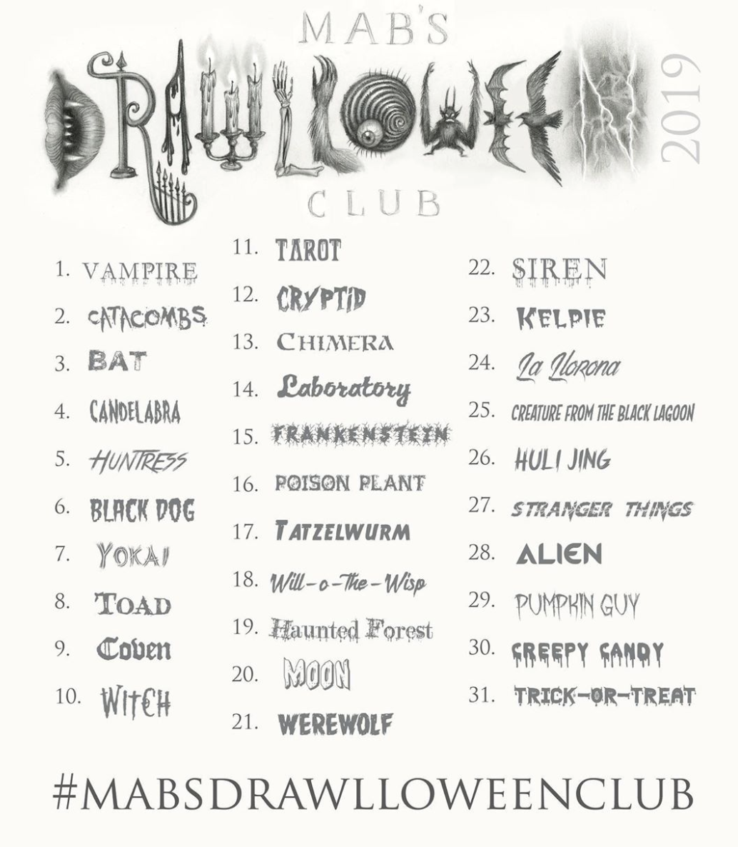2019 List of Prompts Mabs Drawlloween Club.png