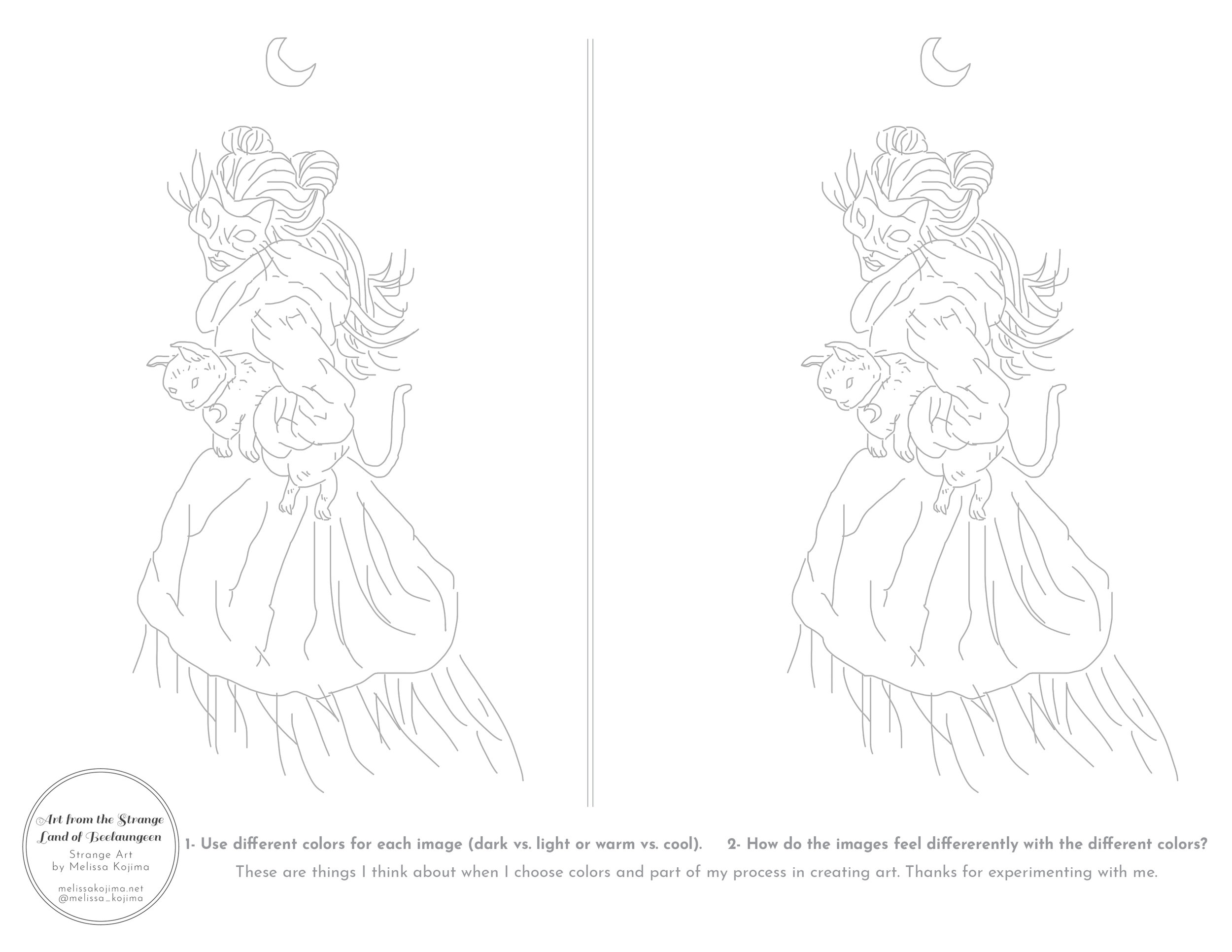 Coloring Page to Learn Color-Kindred Kats-Melissa Kojima.jpg