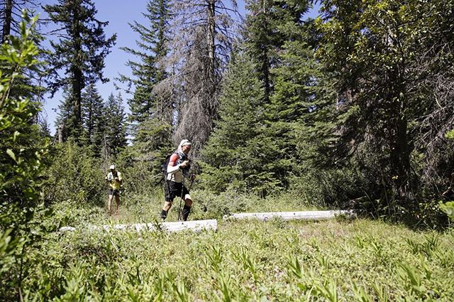 At about 11:30 we crossed highway 140 near Fish Lake and started the push over Mt McLoughlin and on to Crater Lake. Today, because of a mapping error yesterday, we will do about 69 miles. #orpctrun #fktattempt #somanymiles posted by @chrislowphoto