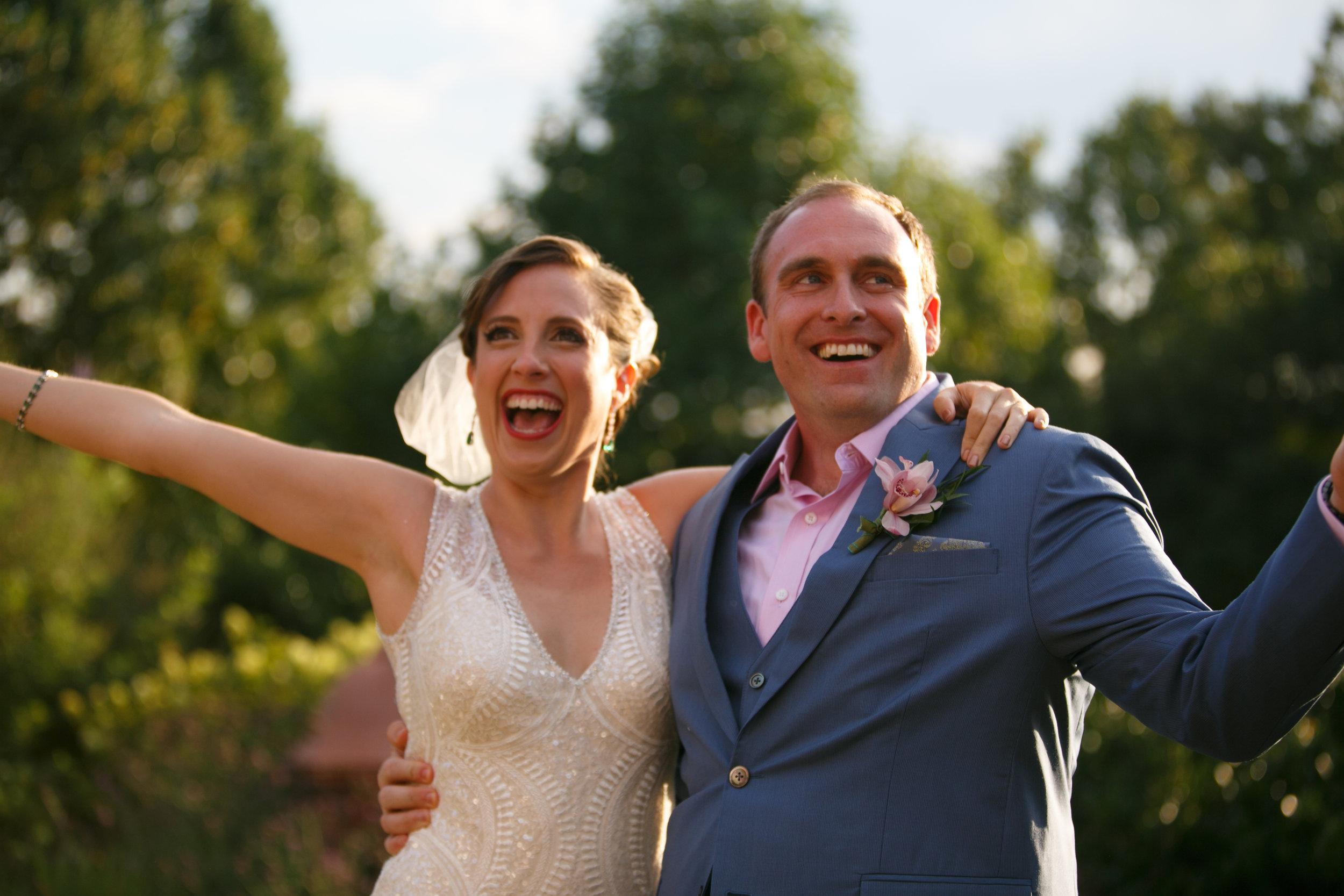 Boho meets Art Deco Out-of-the-Box Wedding Ceremony