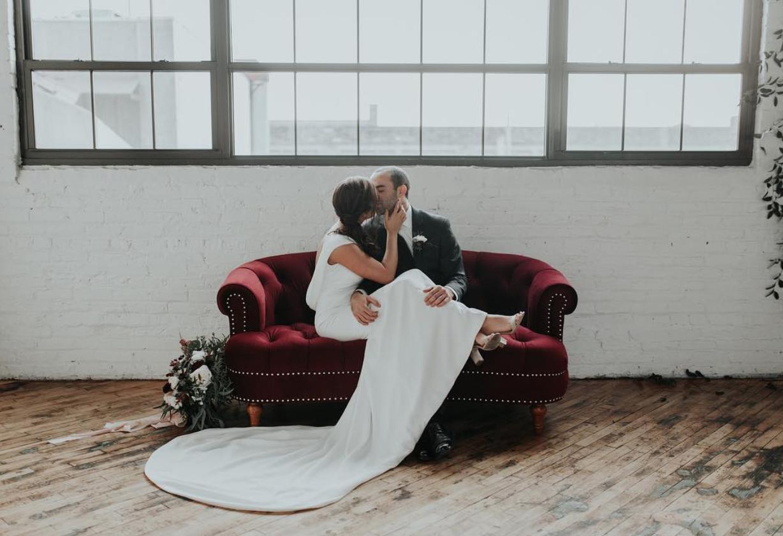 Minimalist Industrial Wedding