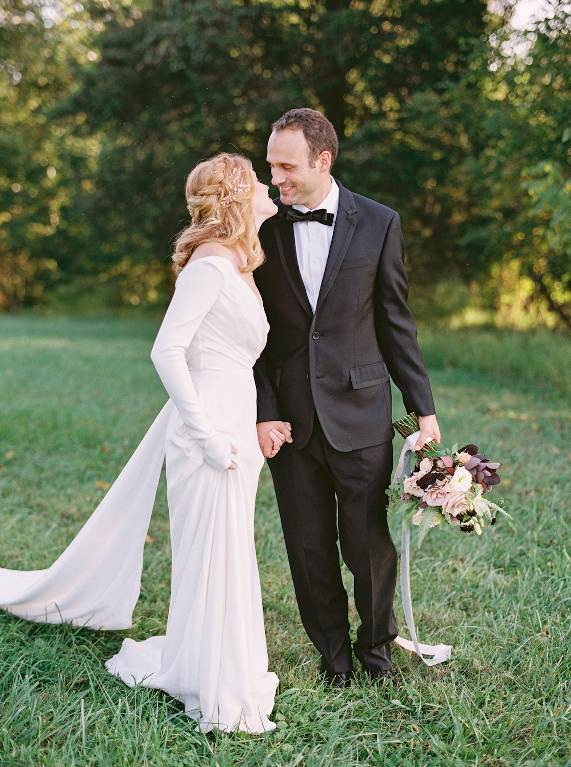 A Berry-Toned Fall Elopement