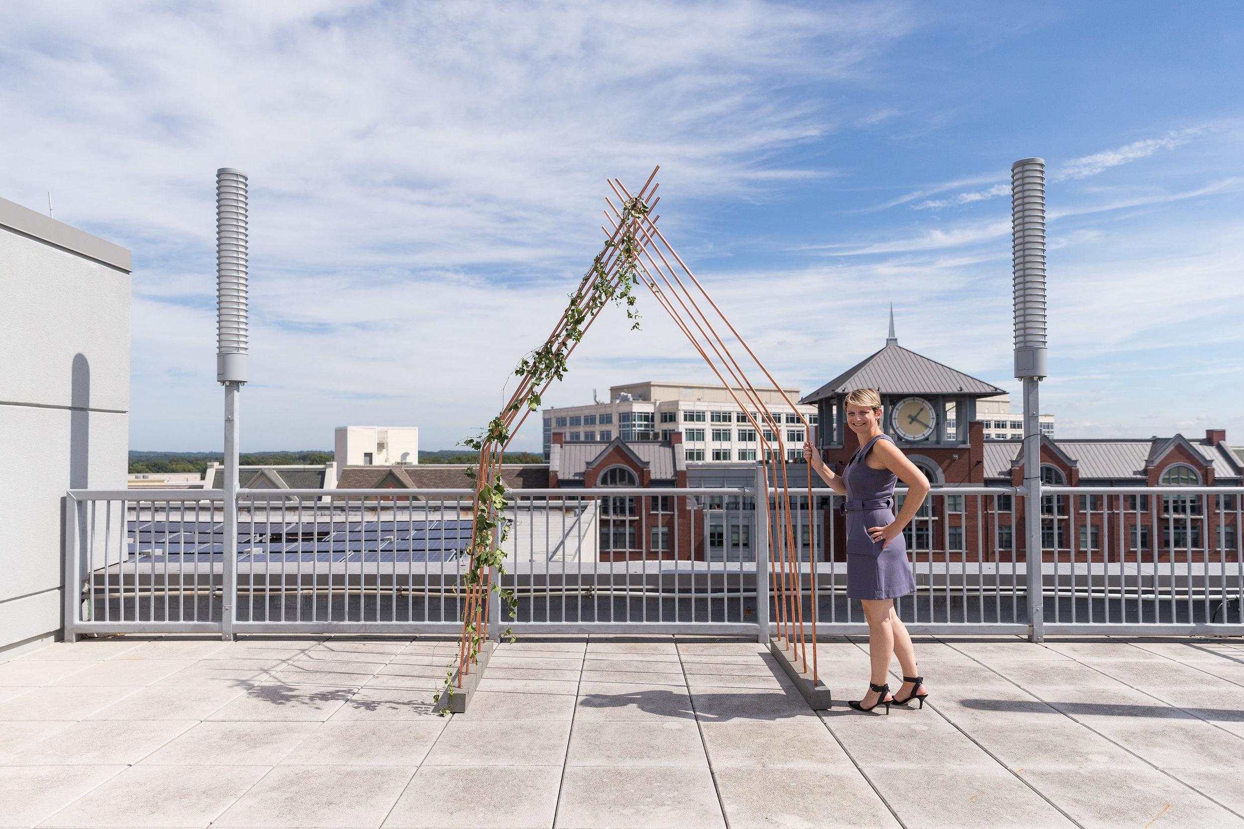 Urban Rooftop Wedding Inspiration
