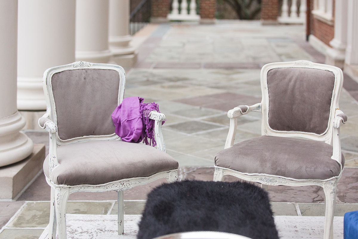 Ultraviolet Wedding Lounge Inspiration A Griffin Events DC Wedding Planner