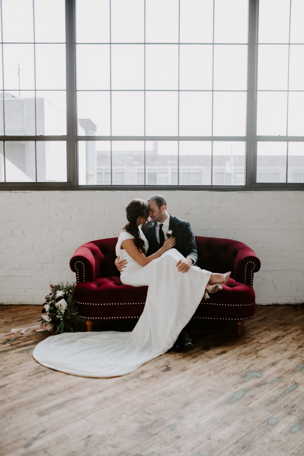 Minimalist Industrial Wedding A Griffin Events Accelerator Space.jpg