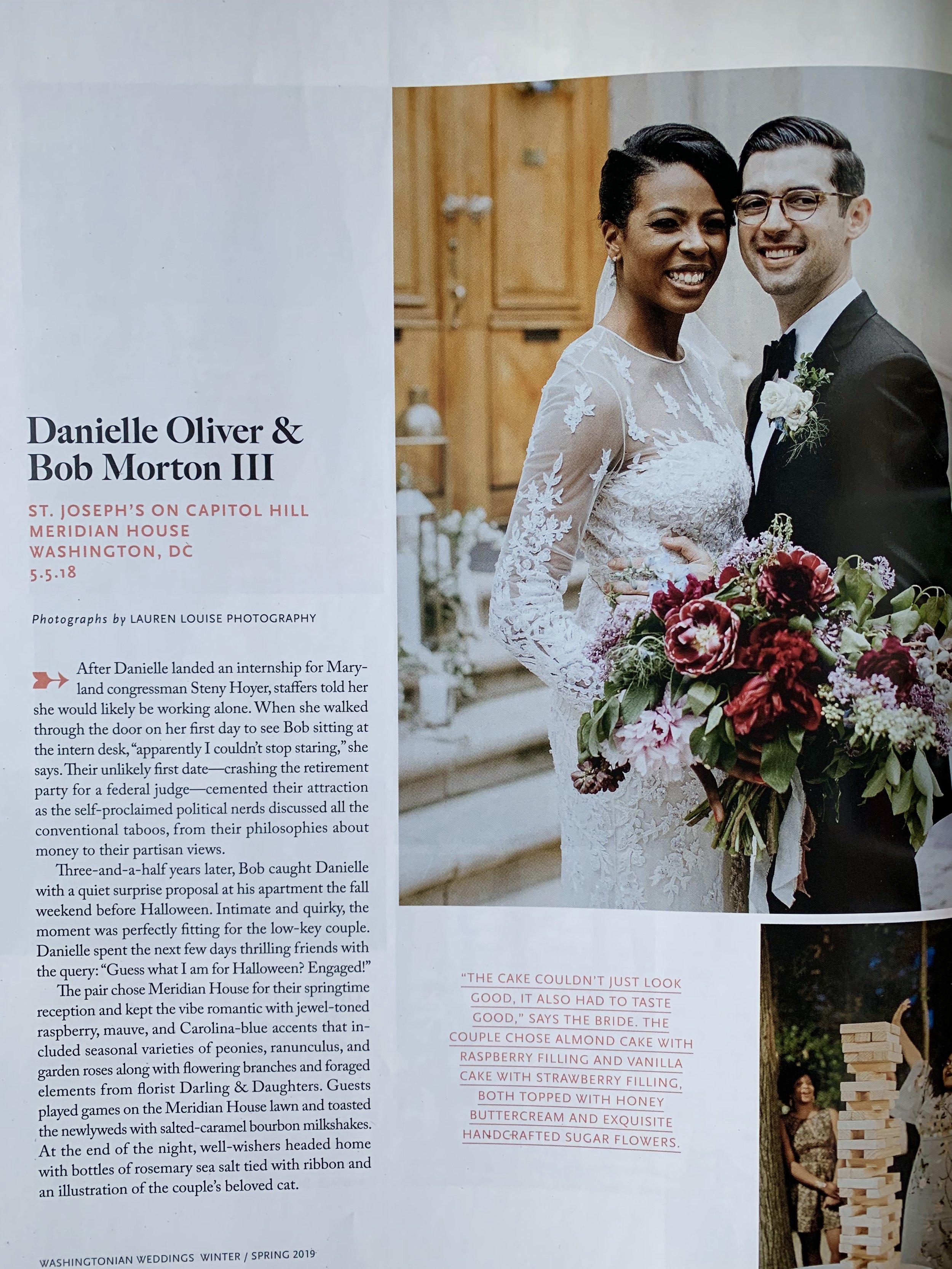 DC Wedding Planner Feature Washingtonian Weddings Meridian House