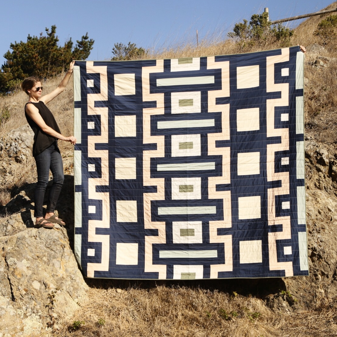 King Nacimiento Quilt, 2016