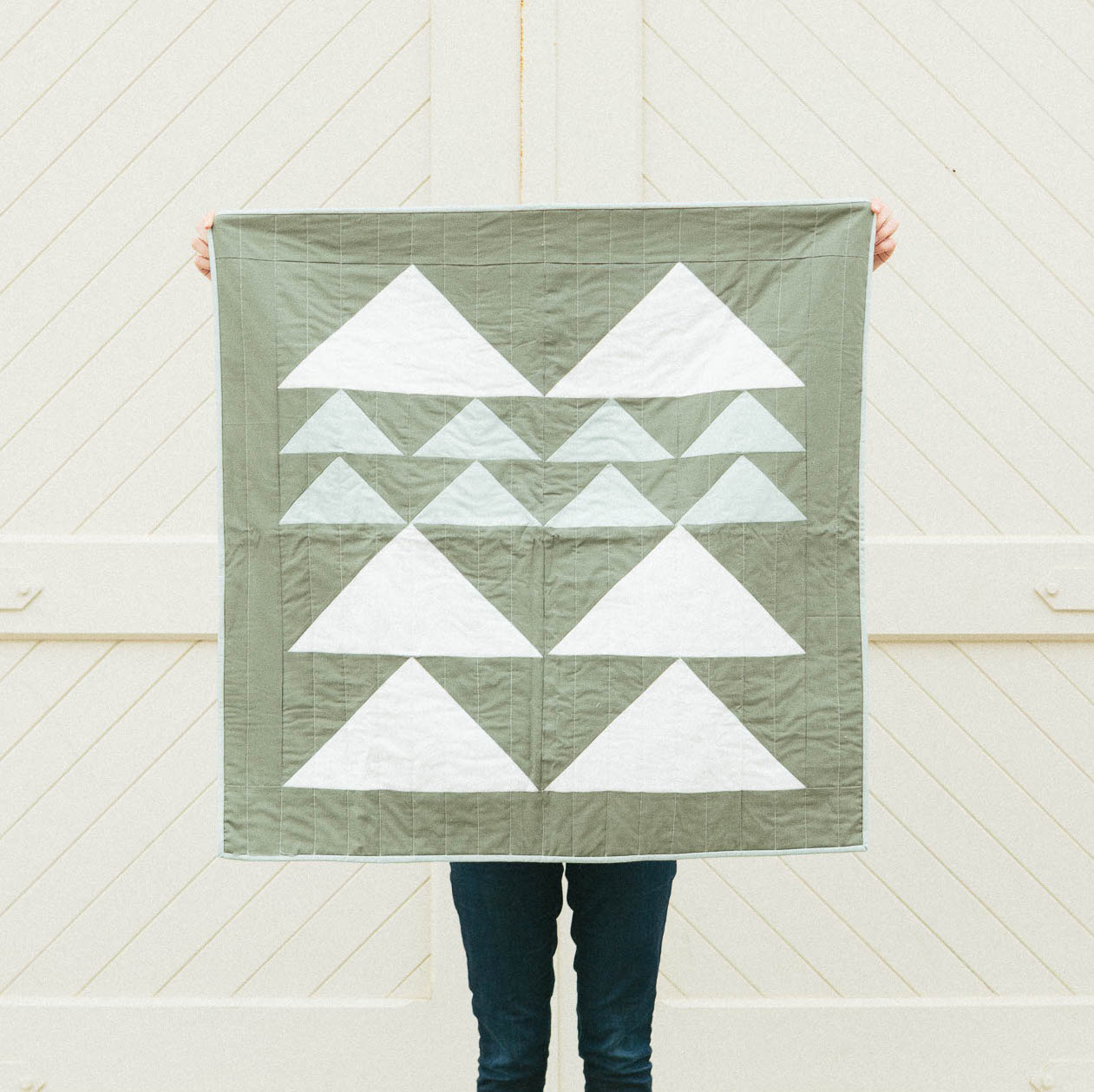 Mountain Quilt in Forest, 2016