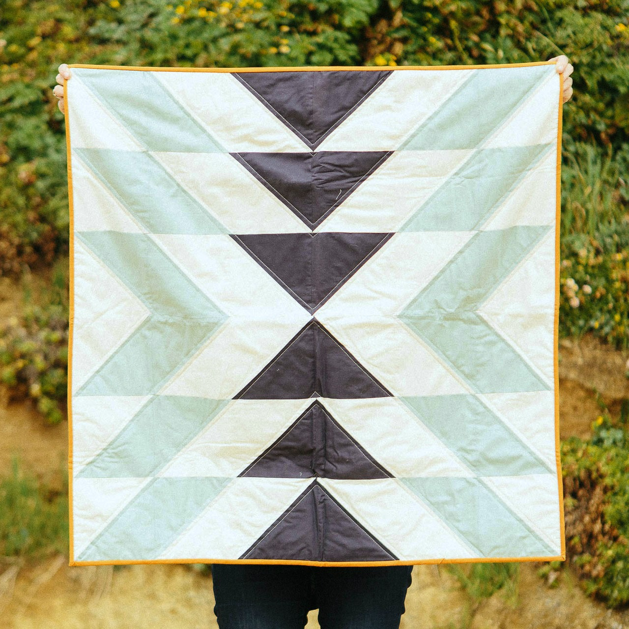 Slow Coast Quilt in Morning, 2016