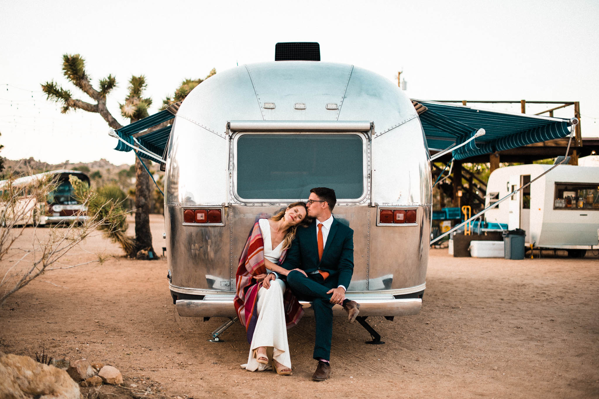 Our wedding in Joshua Tree, CA