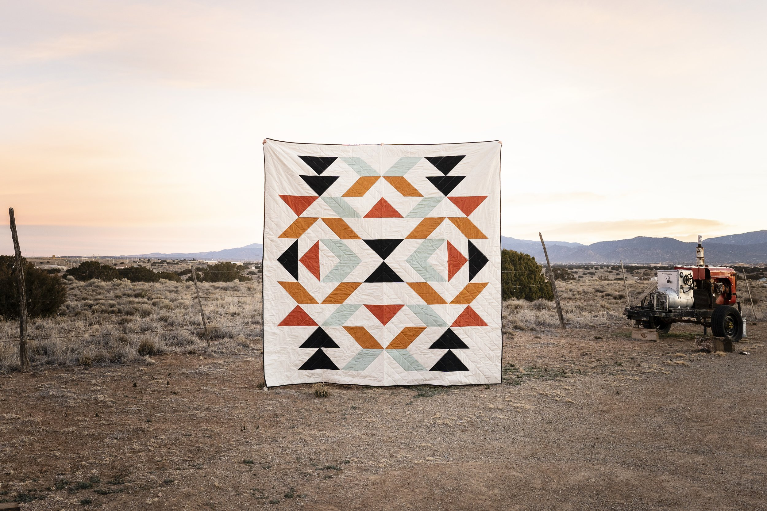 New Mexico Queen Quilt