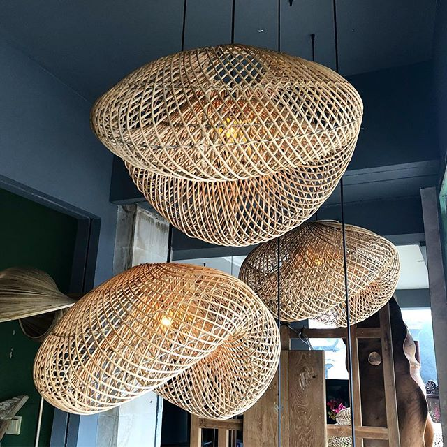 Rattan lighting fixture design, locally made in Bali . . . #lighting #design #interiordesign #retail #sourcing #inspo #bali #artisan #locallymade #studiojwdesign