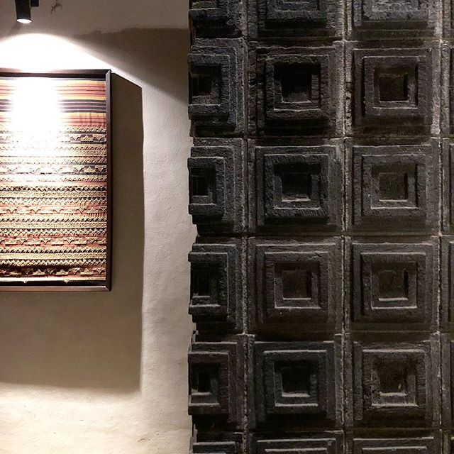 It's all about the subtle moments that catch your eye... . . . #texture #pattern #textileart #ubud #bali #studiojwdesign #architecture #interiordesign #shopping #retail #hospitality #art