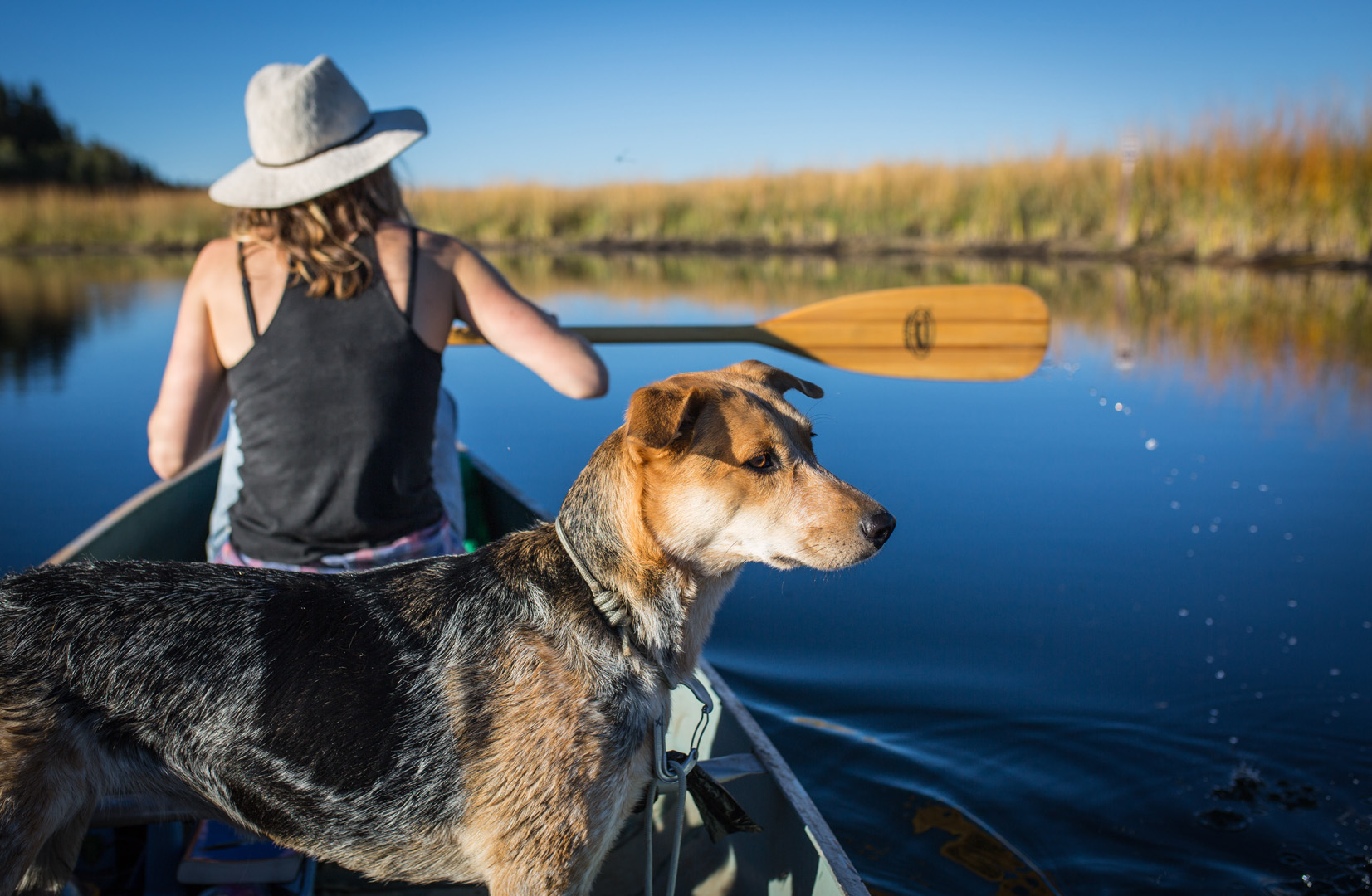Canoeing in Rocky Point, Oregon