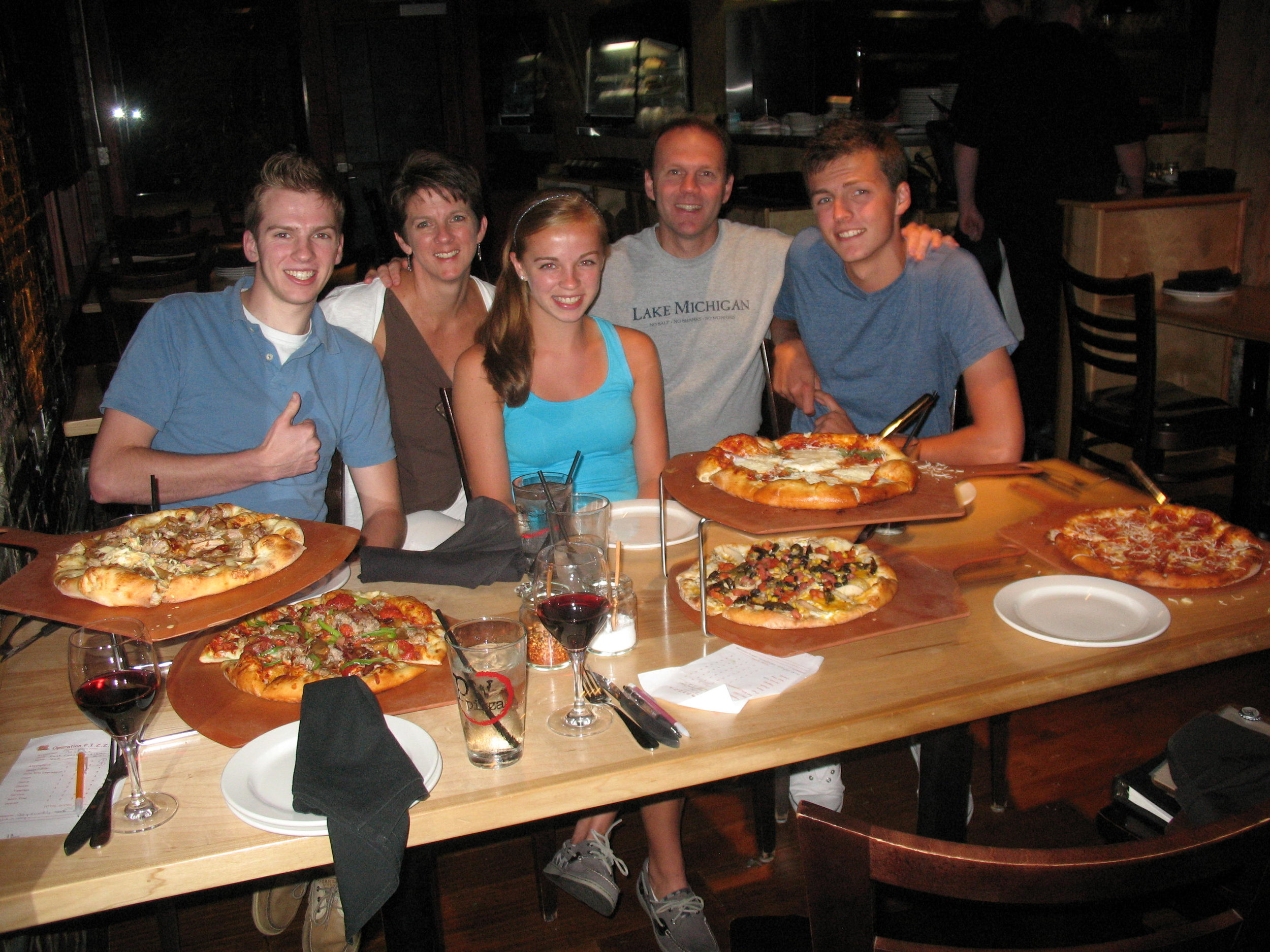 PIZZA SURVEY  Wanna have some extra fun? Start a pizza survey with your friends or family - or any kind of food you eat regularly. We've been doing a 10-point survey for over a decade and it always creates some great conversation around one of our favorite meals.    Download Our Survey