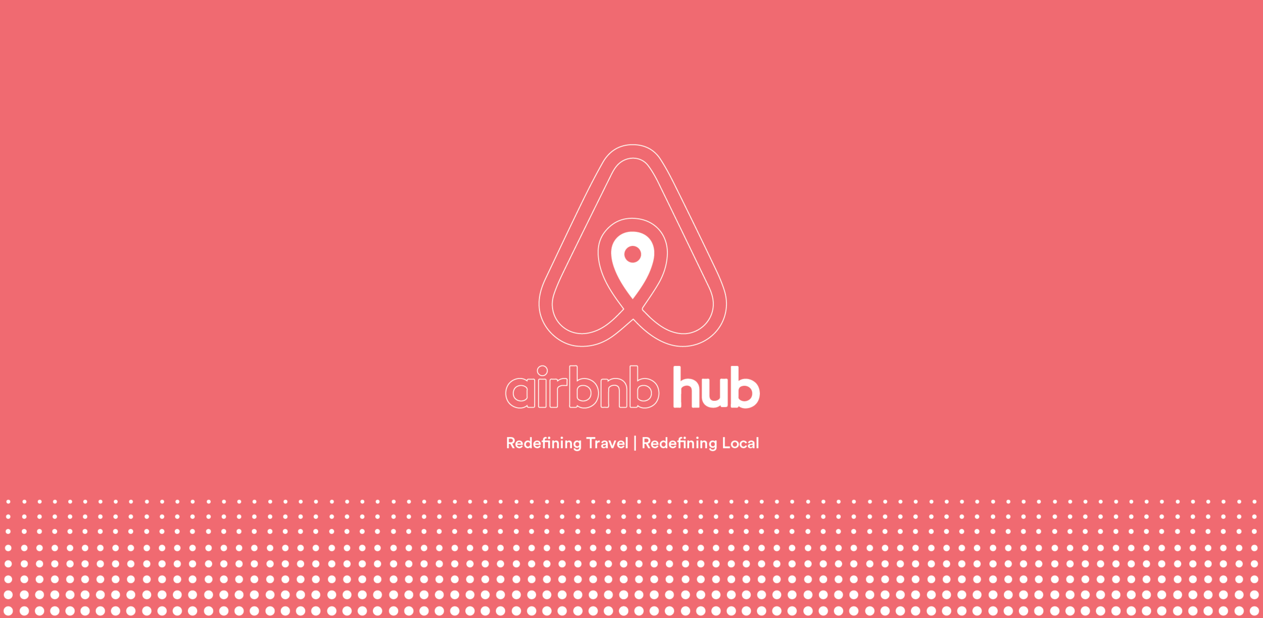 AIRBNB HUBS  is a hypothetical brand extension geared towards expanding the product offering of the online house sharing company in order to capture new audiences and solidify its current customer base. The main concept behind the AIRBNB HUB is to bring the digital product that Airbnb offers and create a physical embodiment of the brand philosophy, mission, and its offerings.