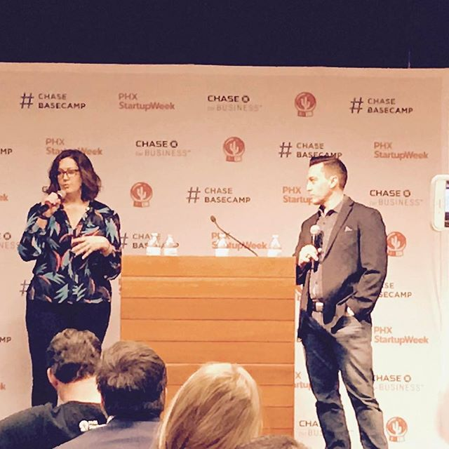 Thank you #phxstartupweek for having me and Mat Caldwell talk about Talent & Recruitment! #yesphx #startuplife #startups