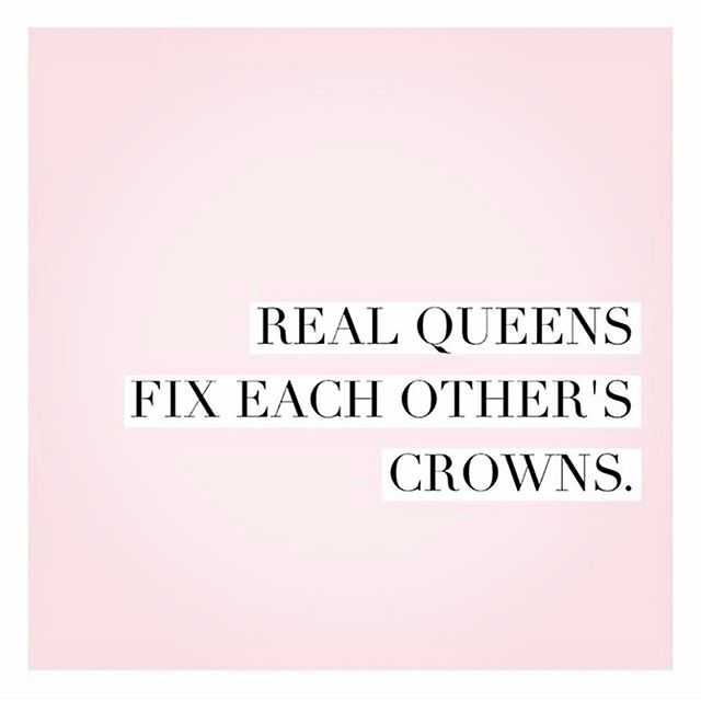 That's right. Let's remember there is enough for all of us.  #queen #girlpower #girlboss #womenrule #crown #entrepreneur