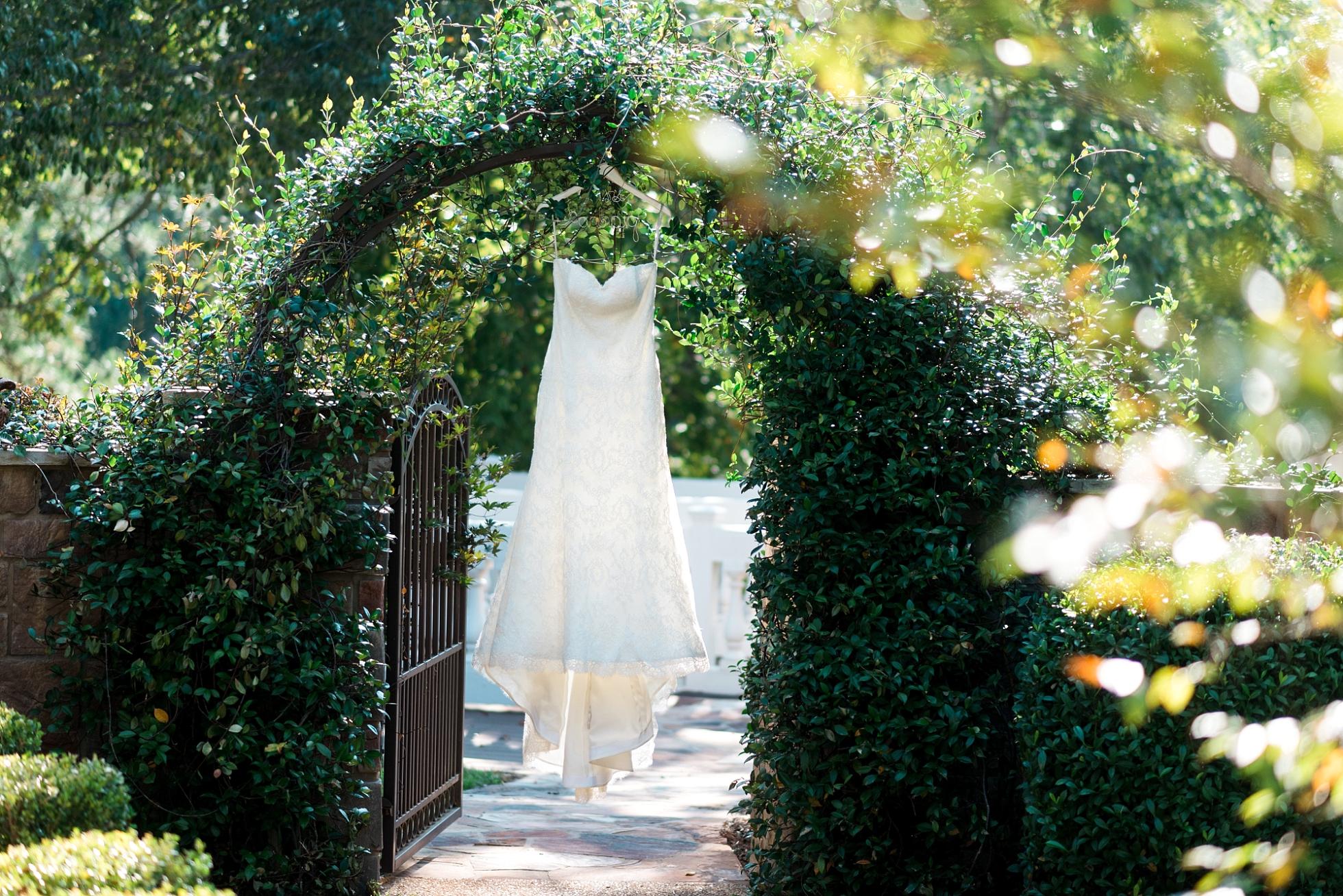 Wedding Dress - Bridals by Lori - Kyle & Erin | Scarbrough Wedding | Children's Harbor | Laura Wilkerson Photography