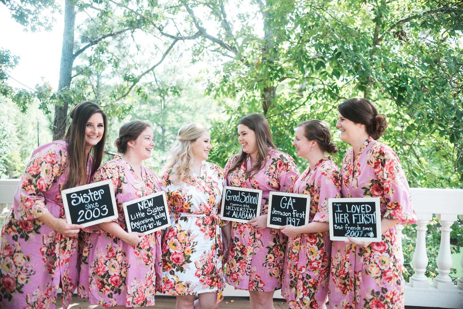 How the bride met her bridesmaids | Kyle & Erin | Scarbrough Wedding | Children's Harbor | Laura Wilkerson Photography