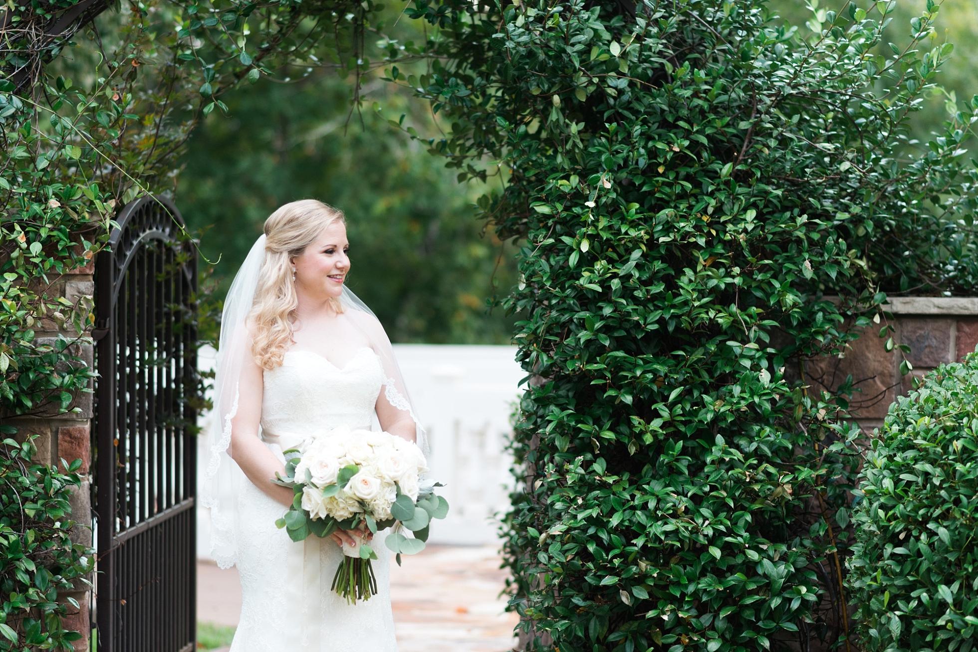 Bridal Portraits | Kyle & Erin | Scarbrough Wedding | Children's Harbor | Laura Wilkerson Photography