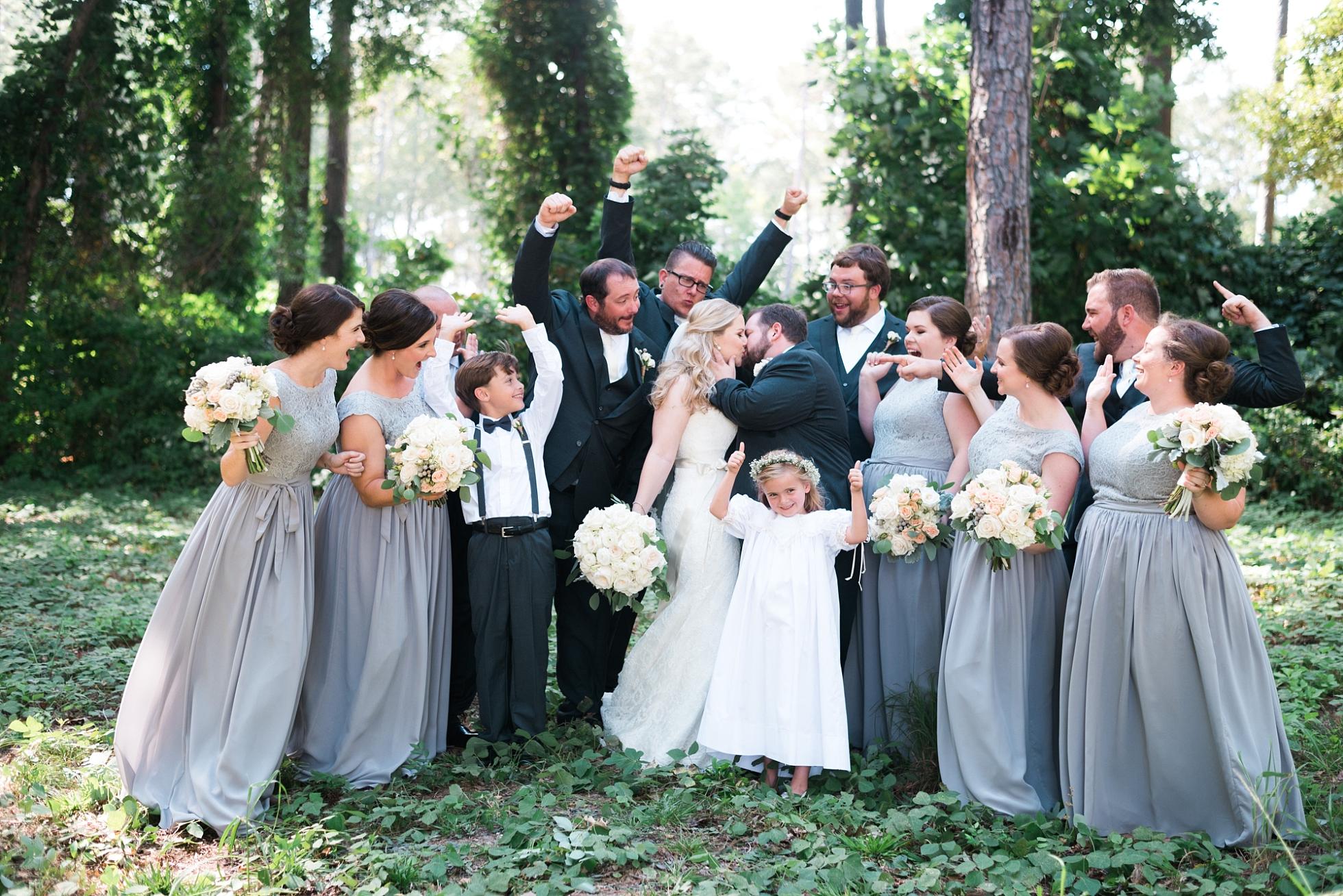 Wedding Party | Kyle & Erin | Scarbrough Wedding | Children's Harbor | Laura Wilkerson Photography