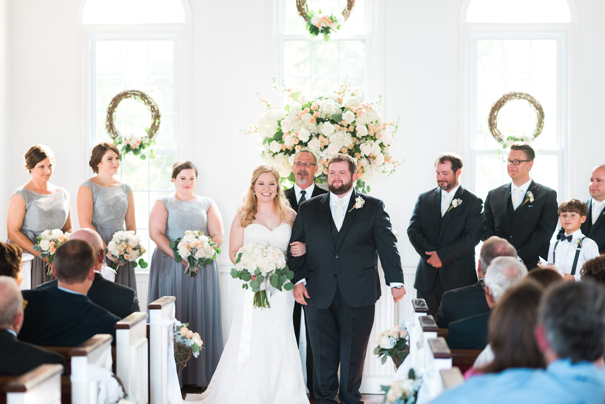 Ceremony | Kyle & Erin | Scarbrough Wedding | Children's Harbor | Laura Wilkerson Photography