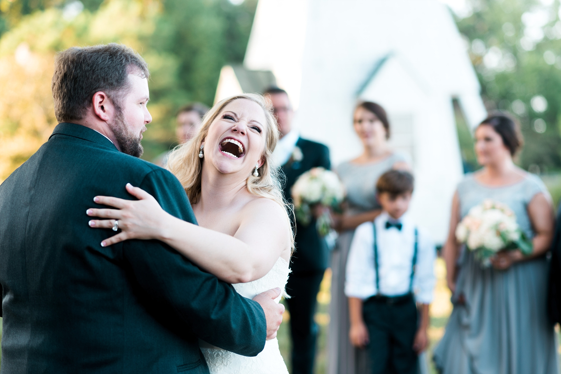 Reception | Kyle & Erin | Scarbrough Wedding | Children's Harbor | Laura Wilkerson Photography