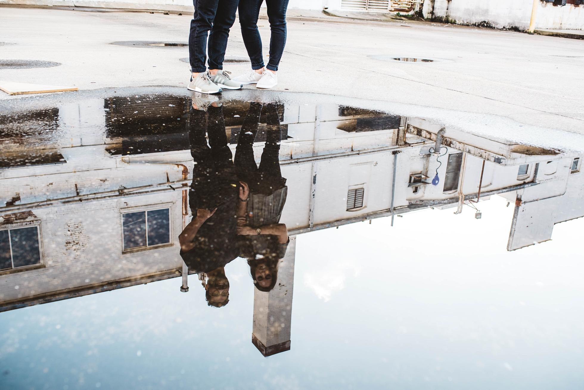 Reflection | Downtown Memphis Engagement | Taylor & Alli