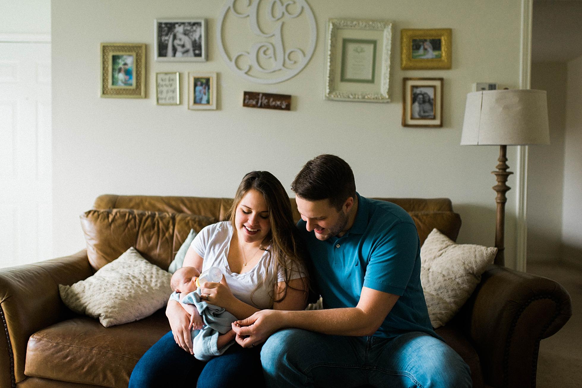 GRAY FAMILY | NEWBORN LIFESTYLE | BIRMINGHAM, AL