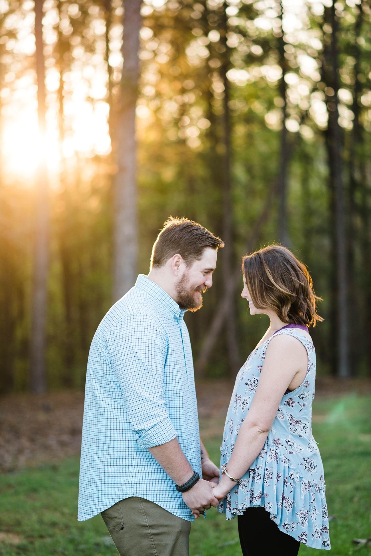 SPRING ENGAGEMENT SESSION|RUSTY & MORGAN | BIG OAK RANCH | SPRINGVILLE, AL