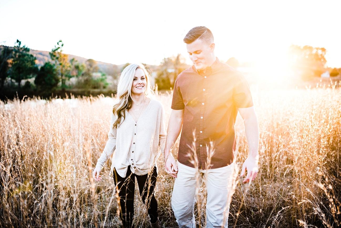 EBEN & MALLORY | A FALL ENGAGEMENT SESSION | SPRINGVILLE, AL