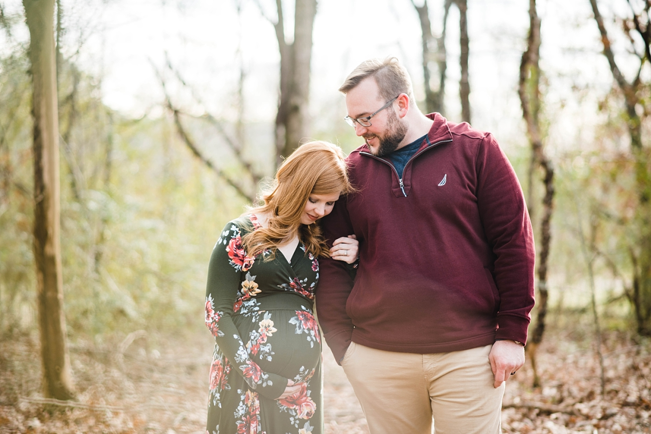 RAY FAMILY | WINTER MATERNITY SESSION | SPRINGVILLE, AL