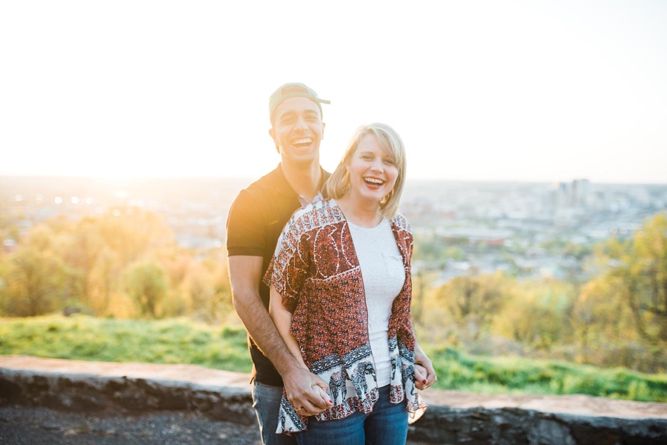 MEREDITH & NICHOLAS | SPRING COUPLE SESSION IN BIRMINGHAM, AL