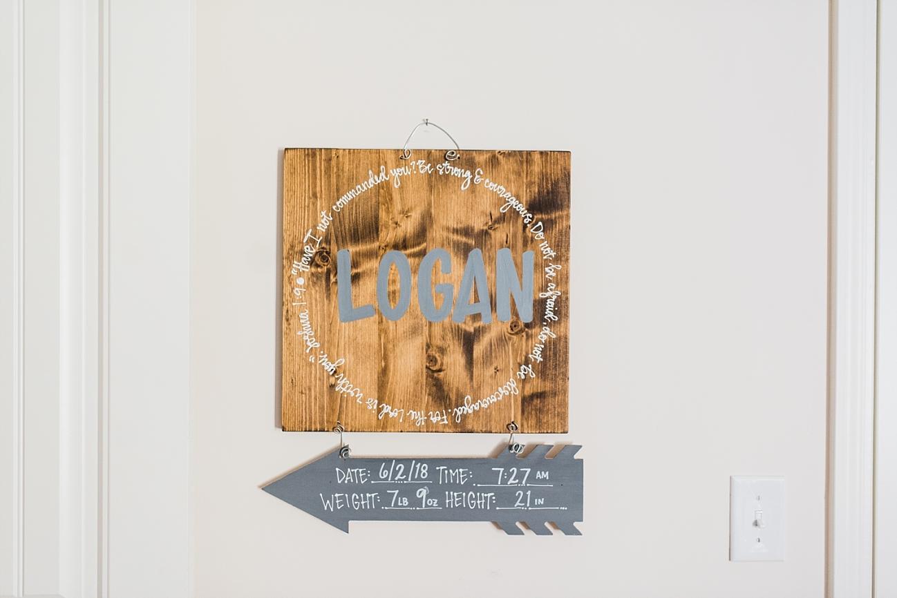 SEABROOK FAMILY | NEWBORN LIFESTYLE SESSION | Baby boy | nursery decor for boy