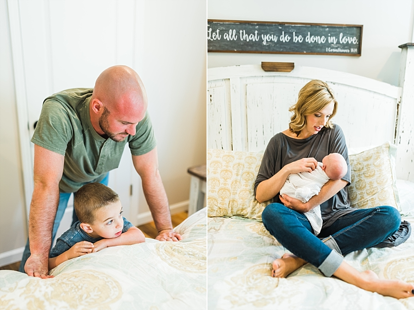 DUPRE FAMILY | NEWBORN LIFESTYLE SESSION