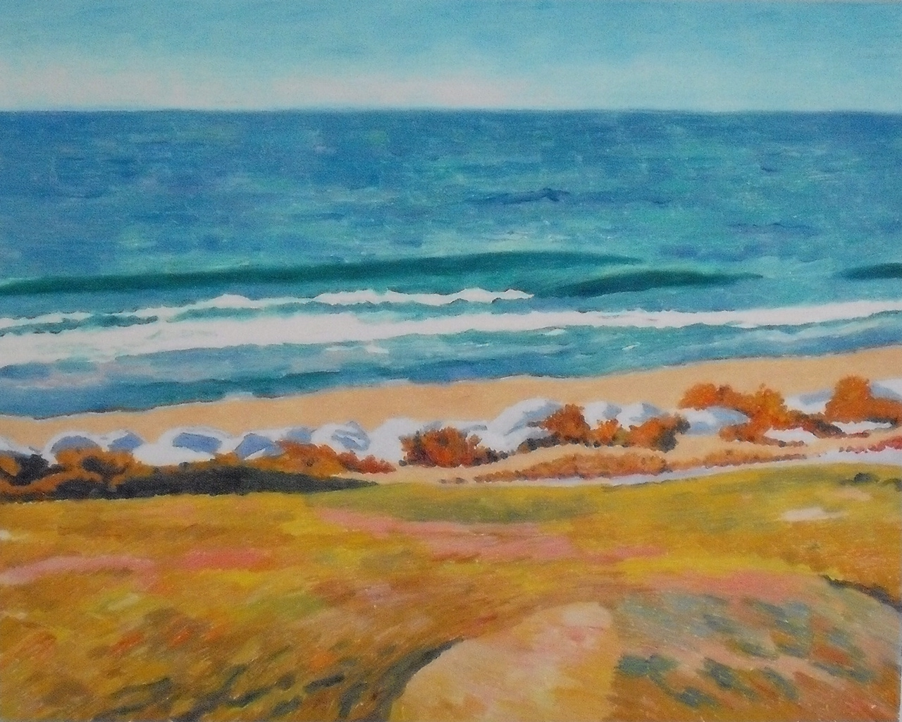 Sea at Fort Fisher