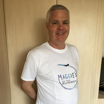 DON BROWN - Don is a regular visitor to Maggie's Manchester. Don was diagnosed with bowel cancer last year.