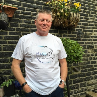 CHRIS THOMPSON - Chris who has been living with prostate cancer since 2012 is passionate about raising awareness.