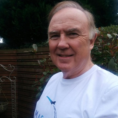NIGEL ANDERSON - Nigel is a carer for his wife Chris who has a brain tumour.Nigel and Chris are regular visitors to Maggie's.