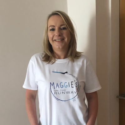 GILL BROMLEY - Gill was a guest at the last Maggie's on the Runway Fashion Show in 2016, little did she know that she herself would be diagnosed with ovarian cancer only a few weeks later.